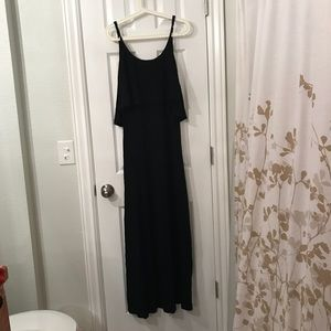 Nordstrom Cecico maxi dress with ruffle